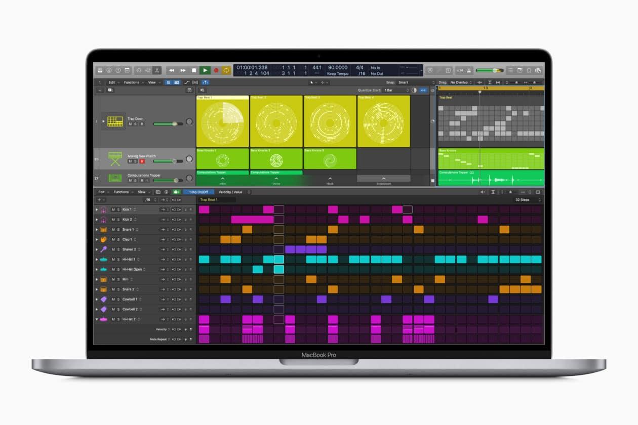 Logic Pro X 10.5 para macOS