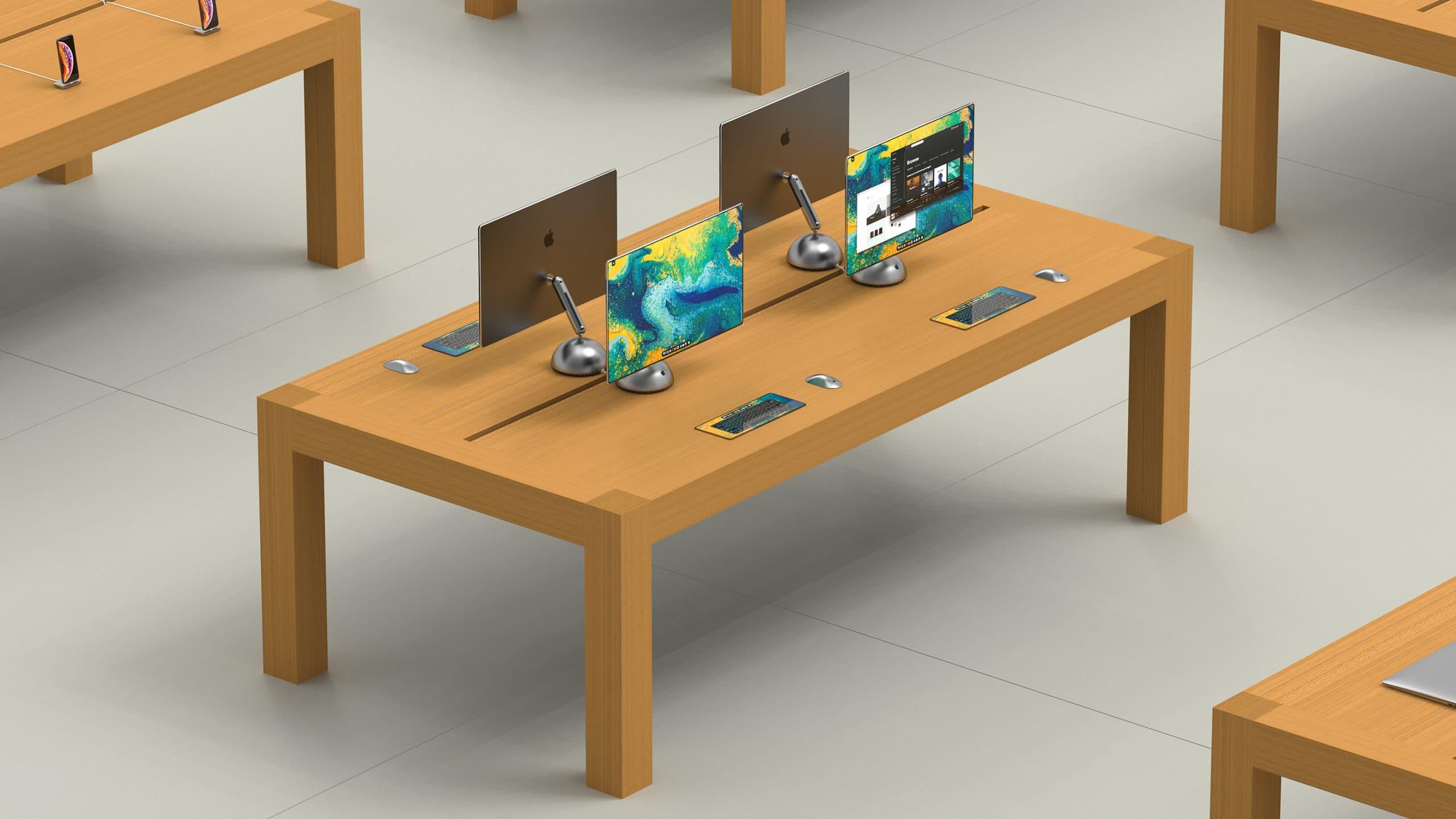Conceito baseado no iMac G4