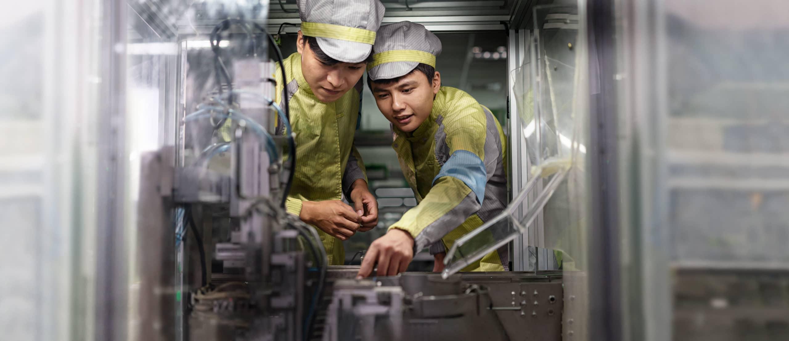 Fornecedores da Apple (engenheiros de linha de produção, Vietnã)