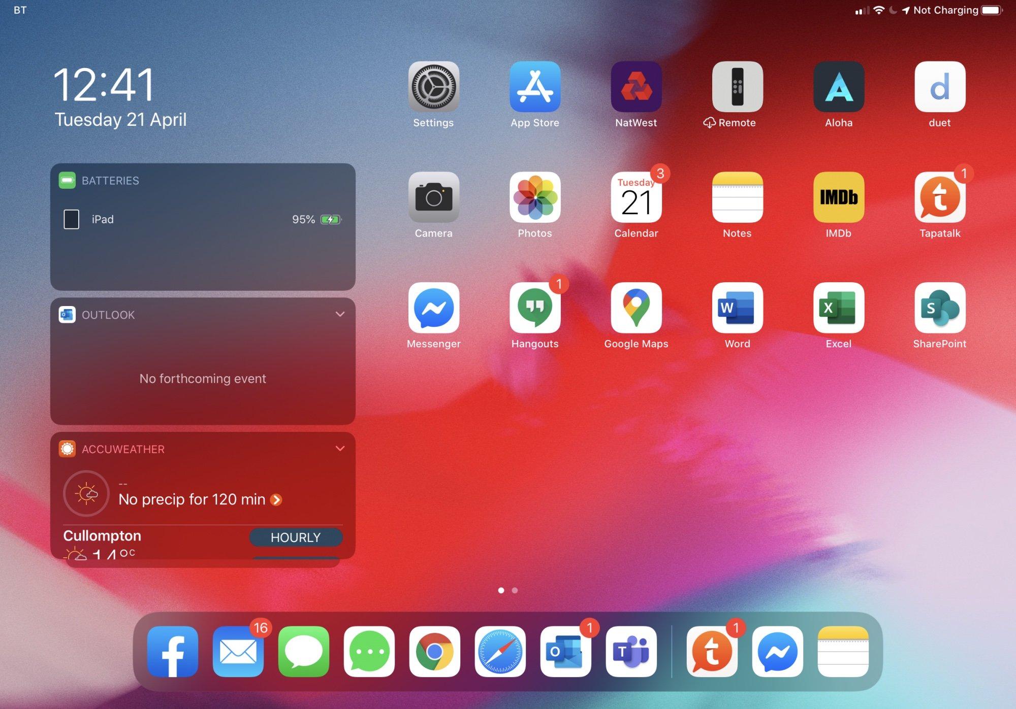 Problema ao recarregar iPad Pro