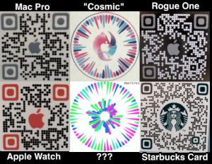 """Códigos QR encontrados dentro do app """"Gobi"""""""