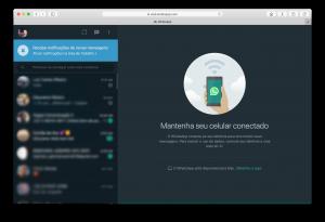 WhatsApp Web no Modo Escuro