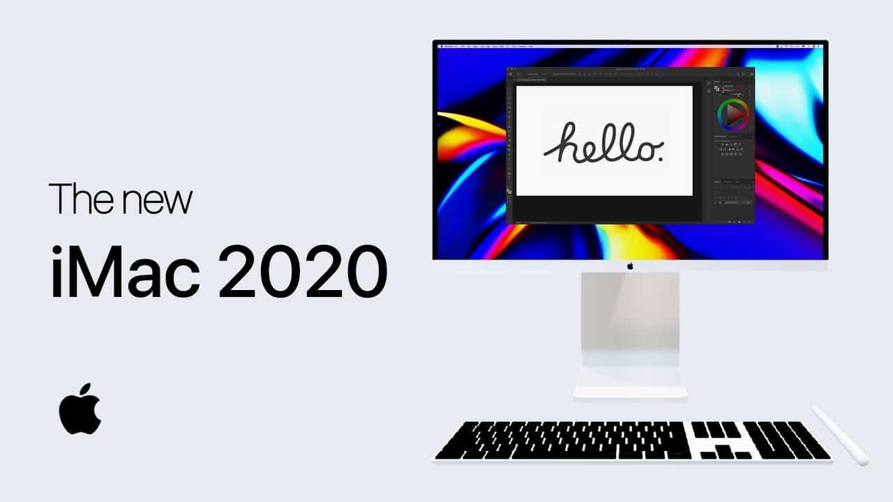 Vídeo: conceito de iMac