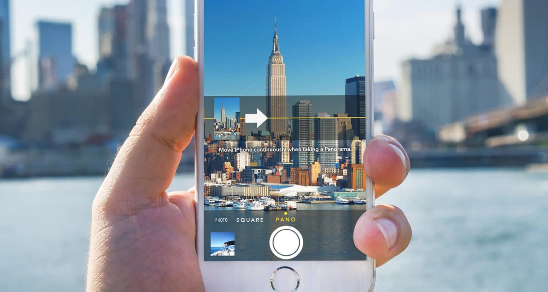 Panorama no iOS