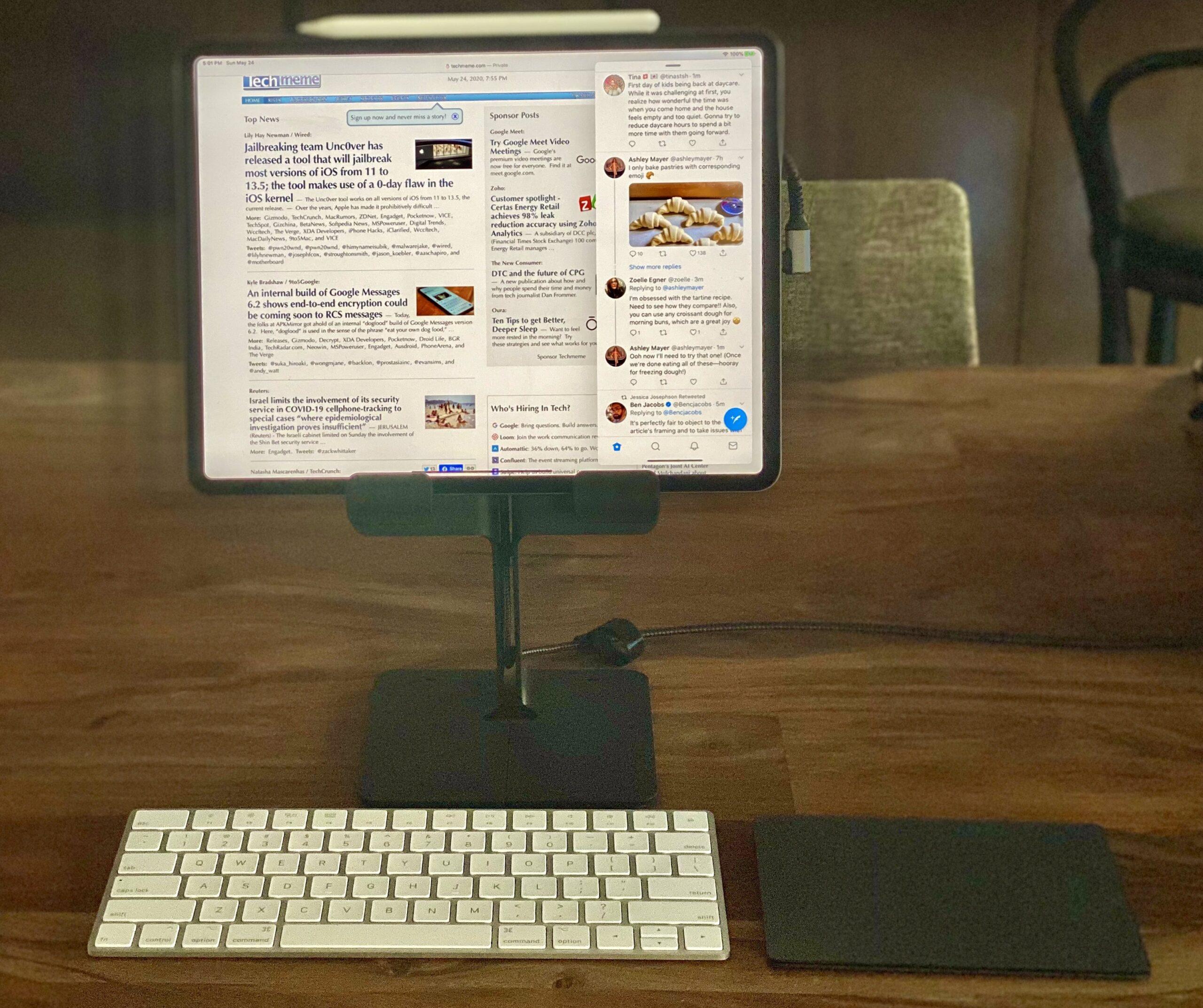 iPad Pro e periféricos