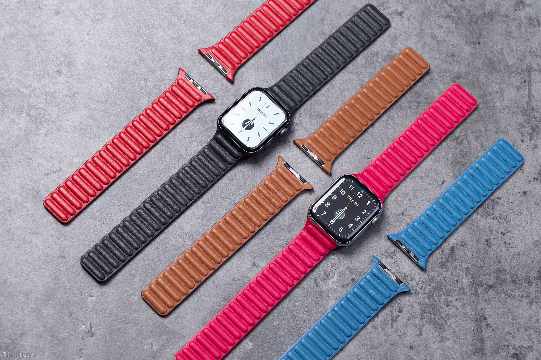 Supostas novas pulseiras de couro da Apple