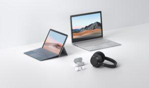 Linha Surface 2020 da Microsoft