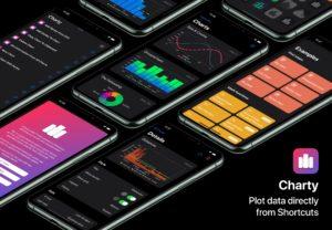 Aplicativo para iOS Charty for Shortcuts