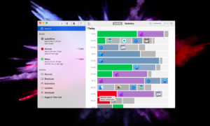 Aplicativo Time Out para macOS