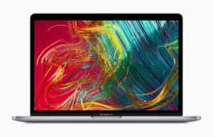 Tela Retina do novo MacBook Pro de 13 polegadas