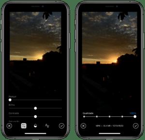 Edição de vídeos no Telegram