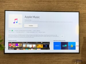 Apple Music chegando a Smart TVs brasileiras da Samsung