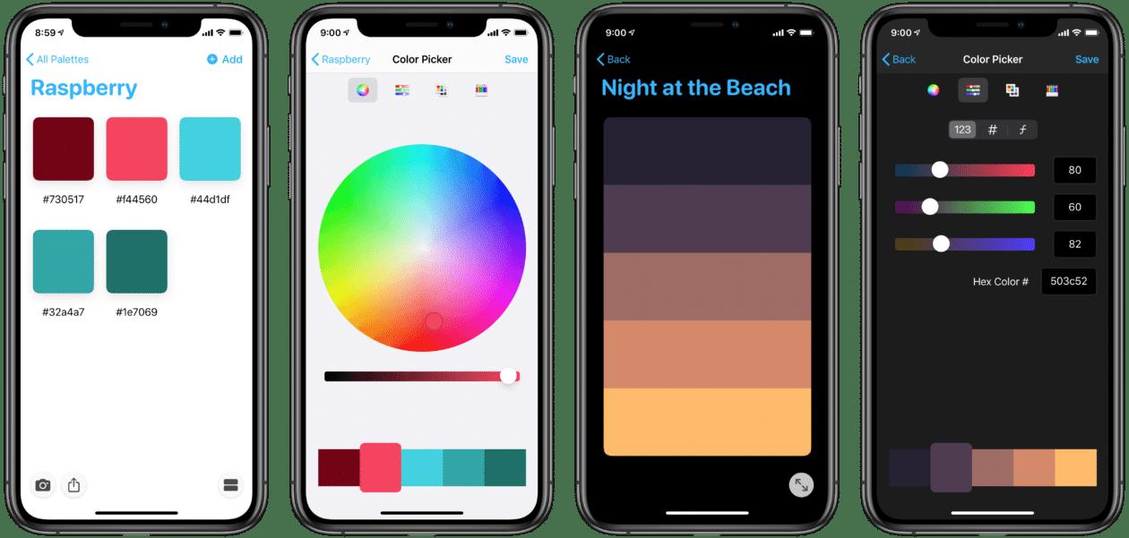 App Pastel no iPhone