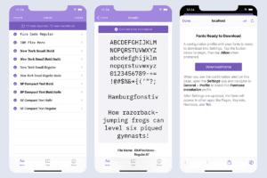 Fontcase, utilitário para instalar fontes no iOS