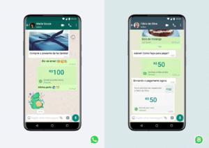 Recurso de pagamento do WhatsApp