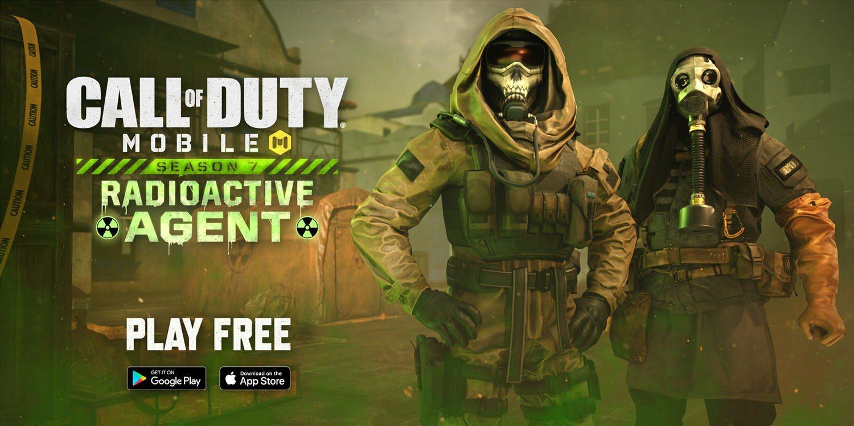 Radioactive Agent, sétima temporada de Call of Duty: Mobile