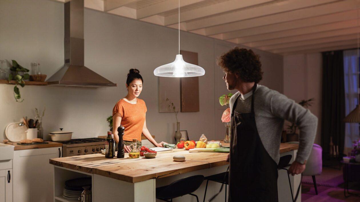 Nova lâmpada Philips Hue