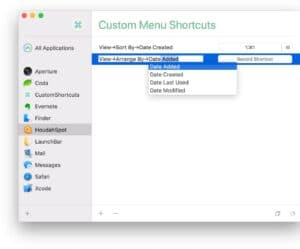 CustomShortcuts para macOS