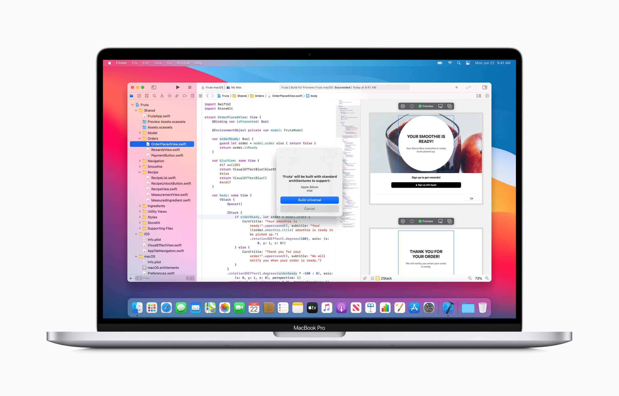 Transição da Apple para chips ARM