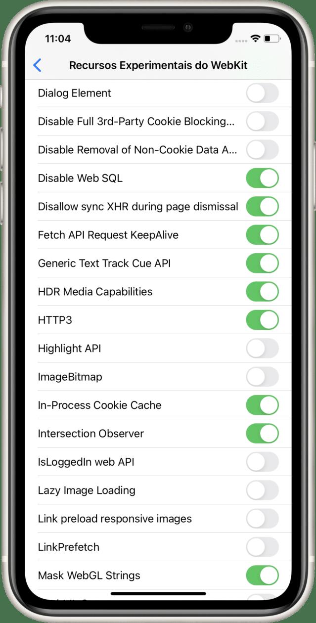 Suporte ao HTTP/3 no Safari 14