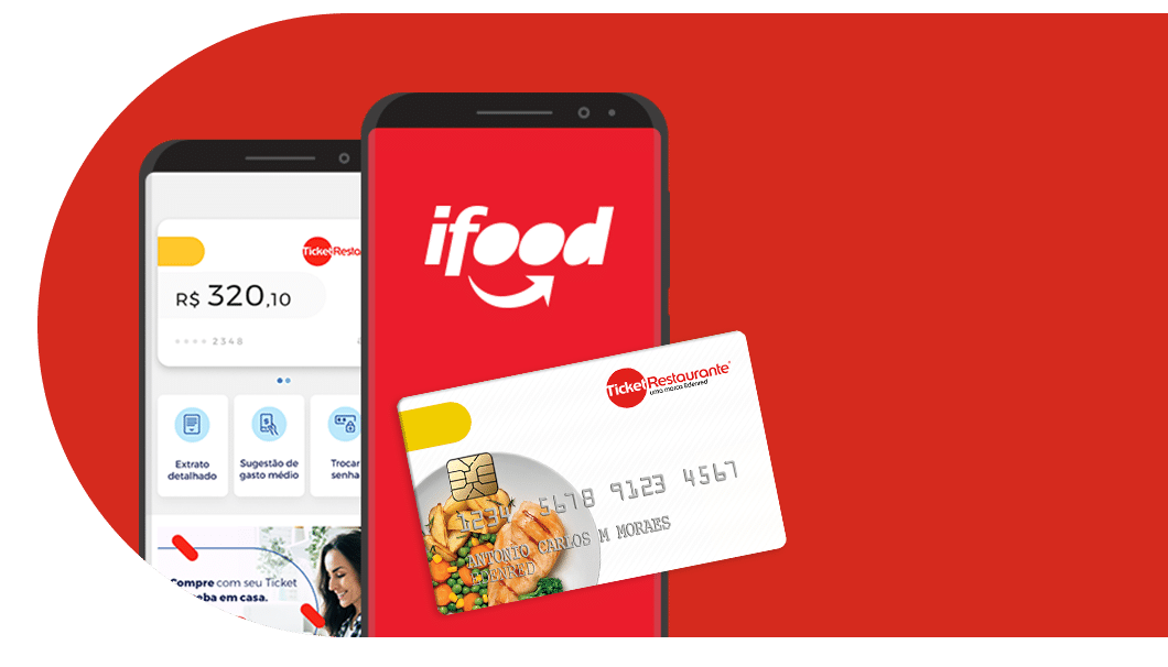 Ticker Restaurante e iFood