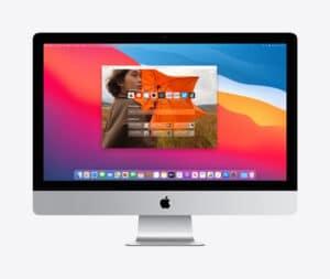 iMac rodando o Safari 14