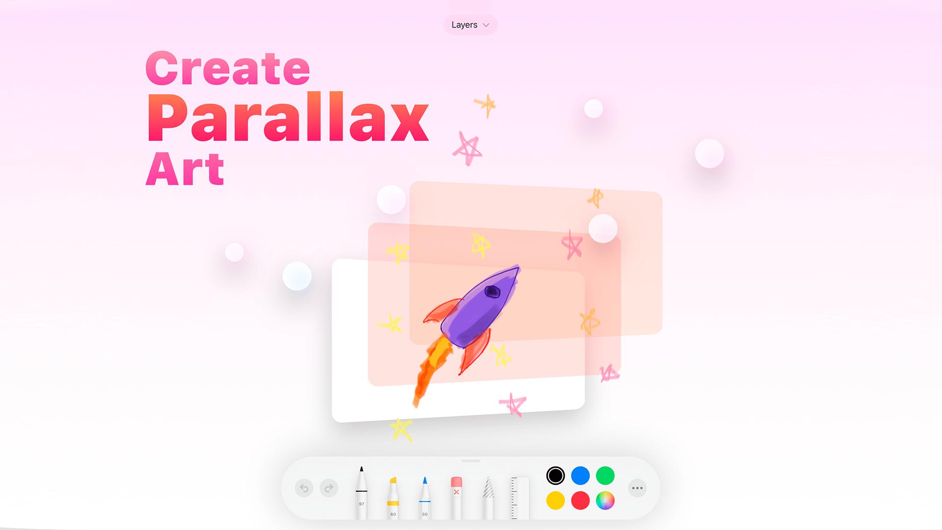 App de ilustração Originate