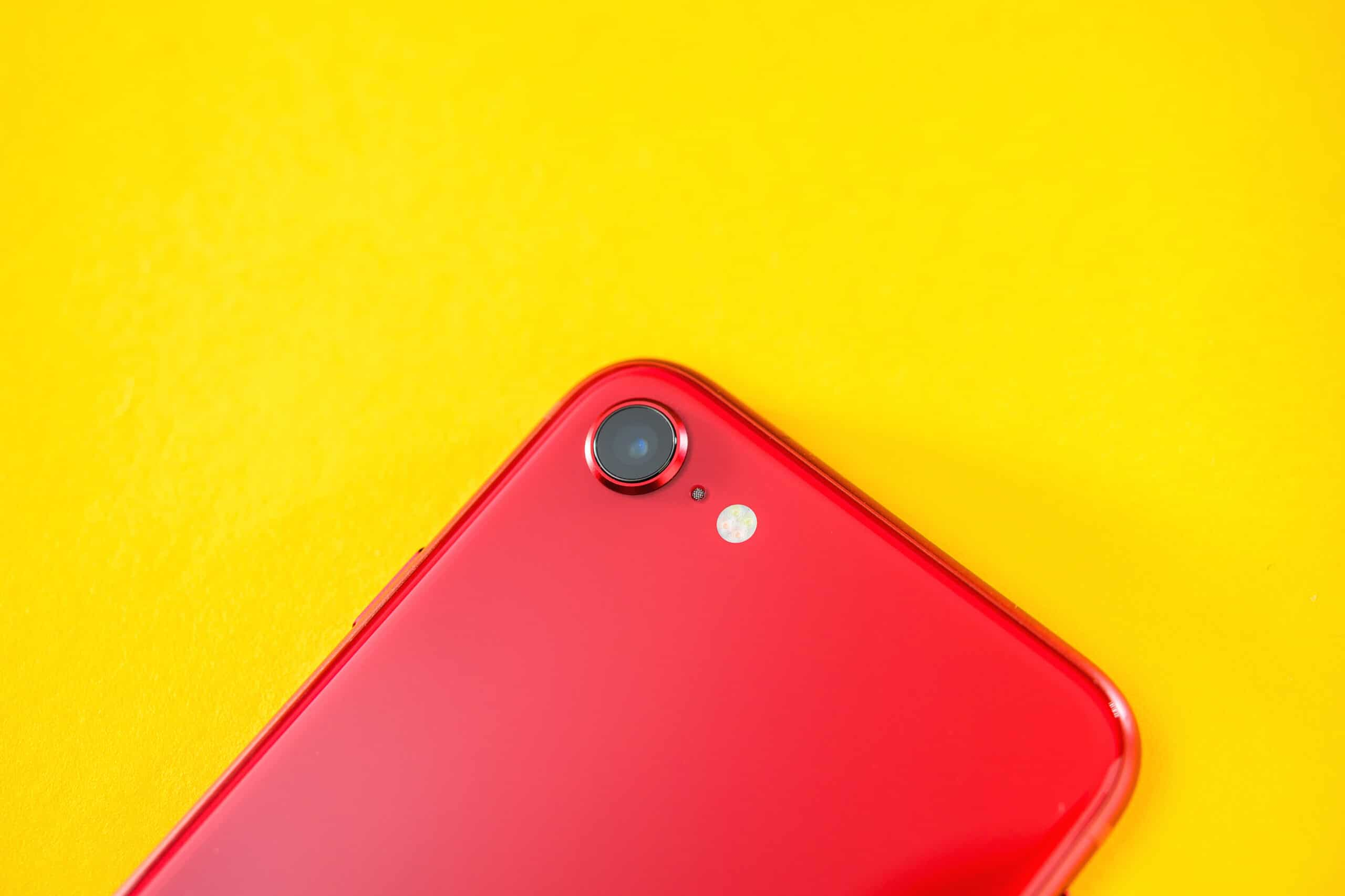Câmera do iPhone SE