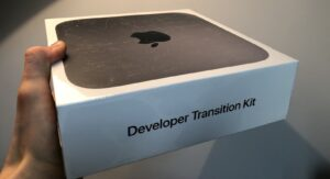 Mac mini do Developer Transition Kit (DTK)