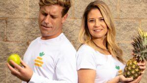 Fundadores da startup australiana Pineapple