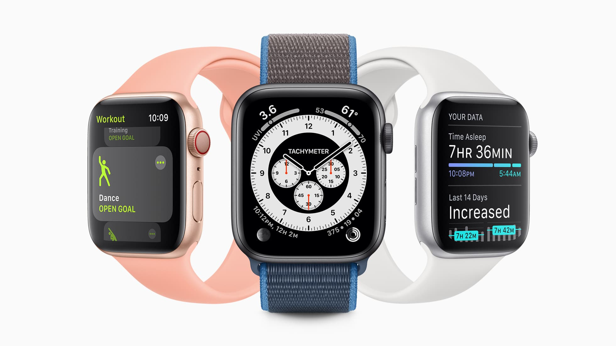watchOS 7 em alguns Apple Watches