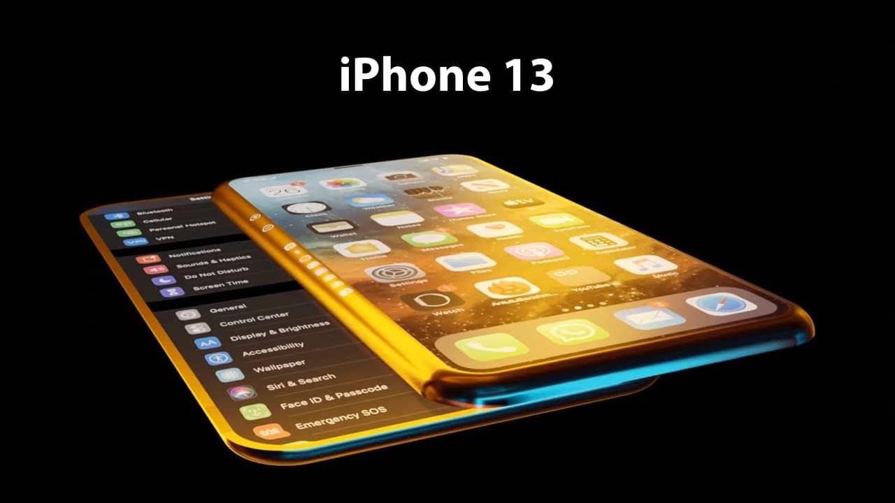 """Conceito de """"iPhone 13"""""""