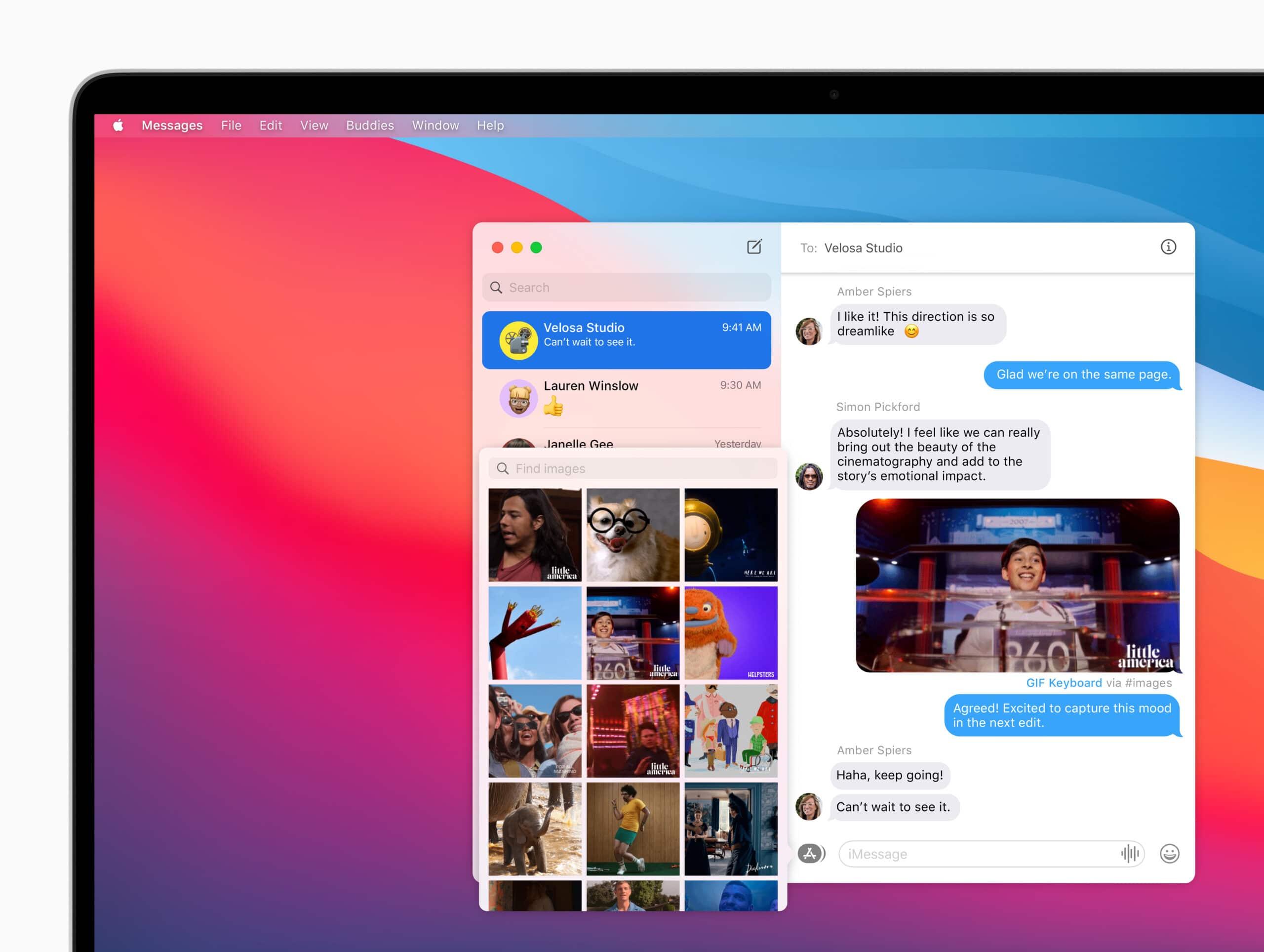 iMessage no macOS Big Sur