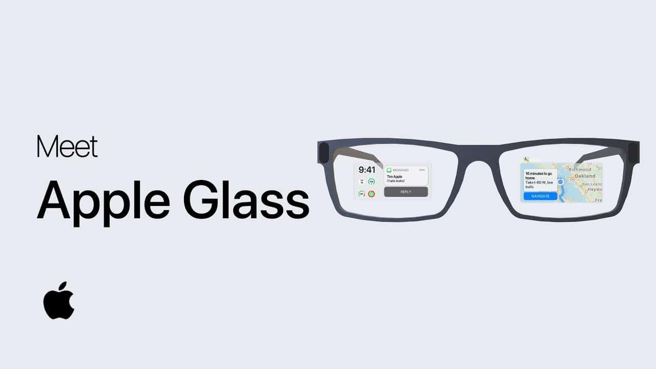 """Conceito do """"Apple Glass"""""""