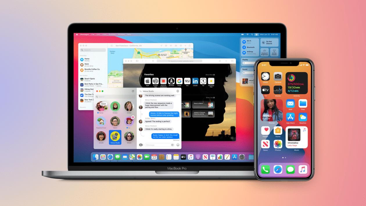 iOS 14 e macOS Big sur