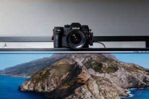 Câmera da FUJIFILM como webcam