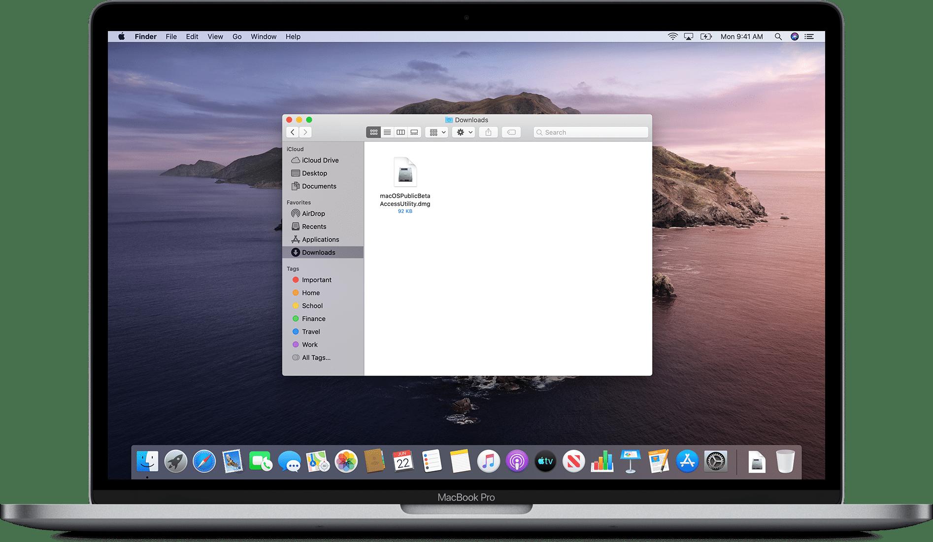 macOS Big Sur beta público