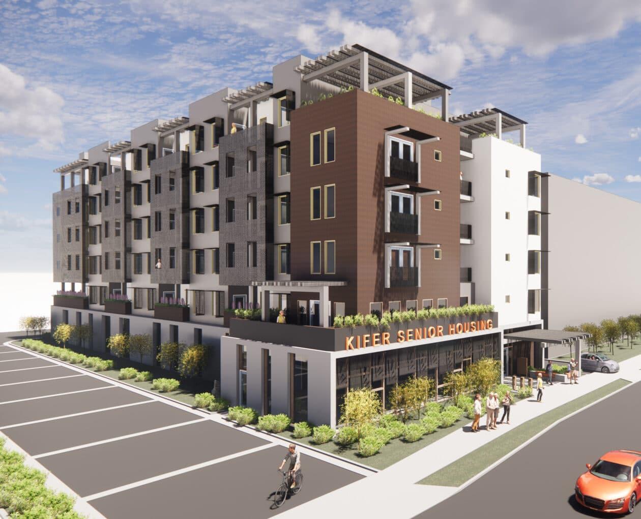 Casas acessíveis do programa de combate à crise imobiliária na Califórnia
