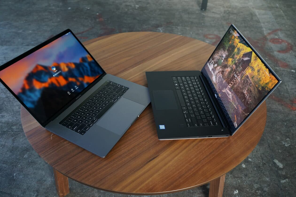 MacBook Pro e notebook da Dell