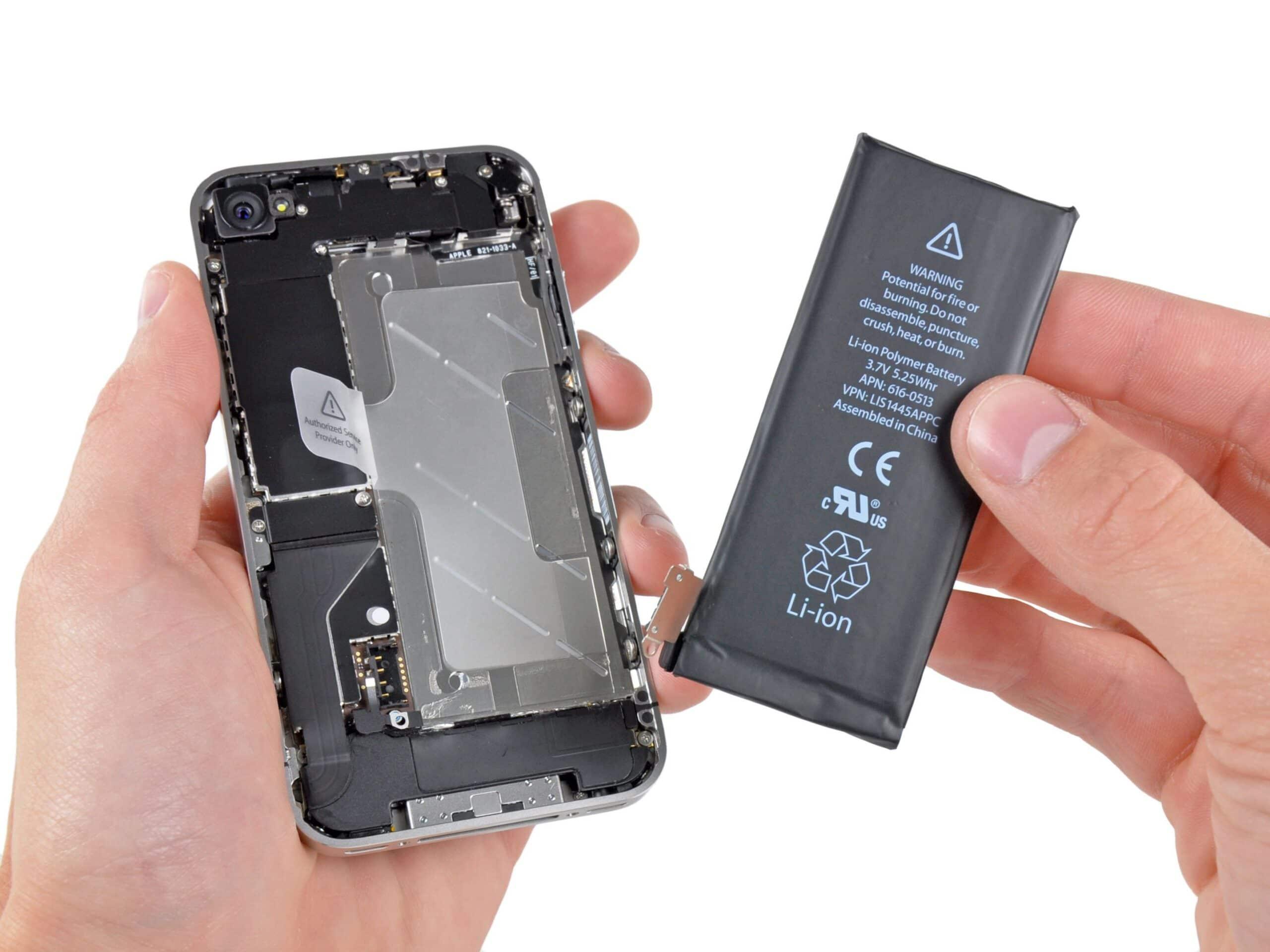 Bateria do iPhone