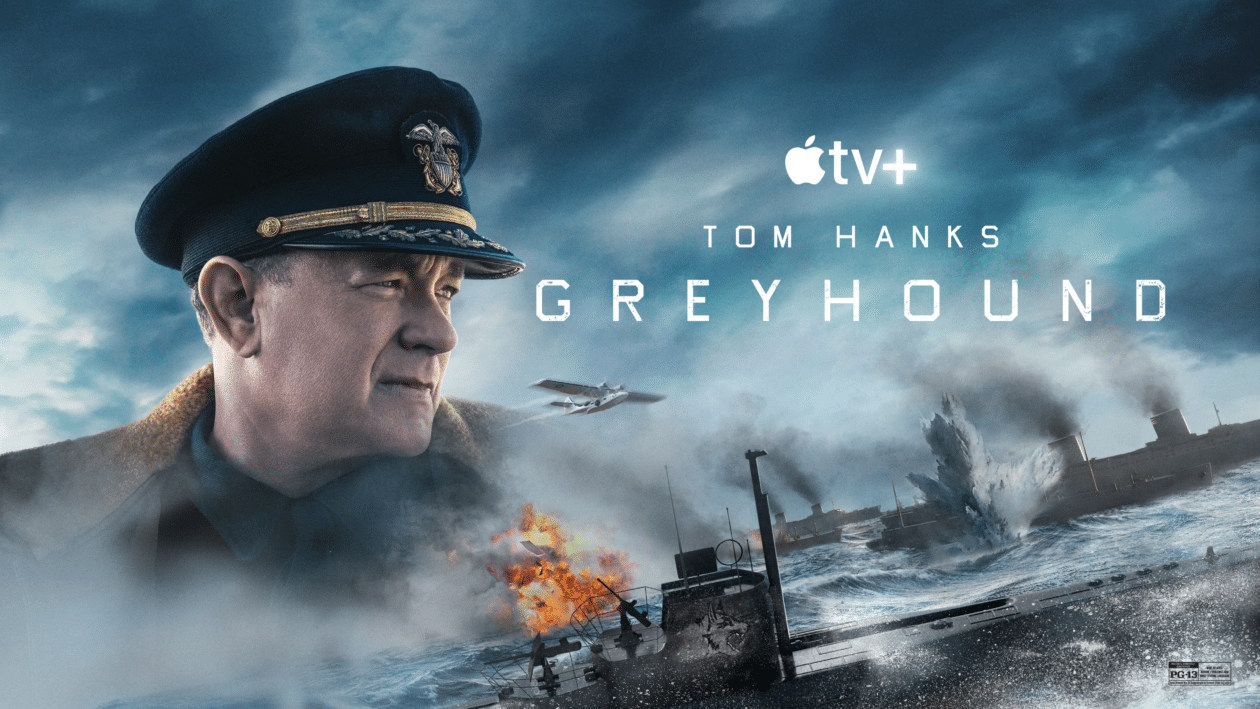 """Arte oficial do filme """"Greyhound"""""""