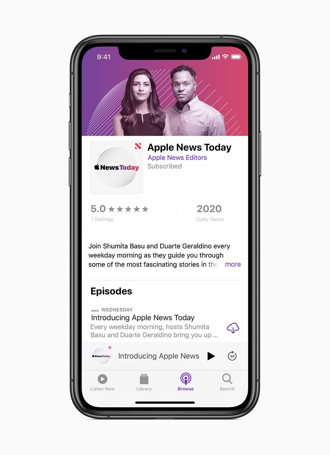 Novidades do Apple News