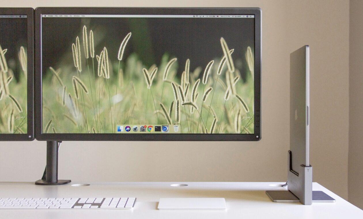 Novos docks verticais da Brydge para MacBook