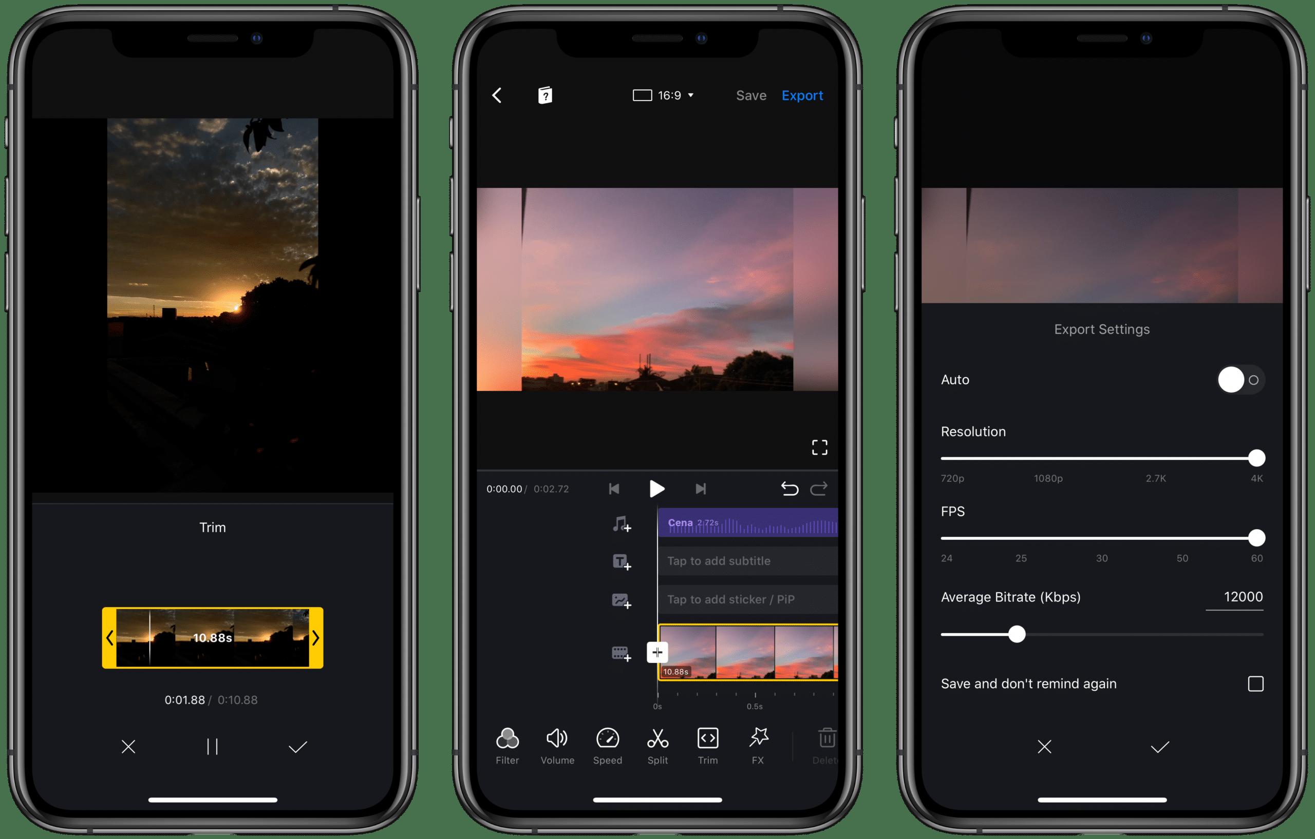 Editor VN para iPhone