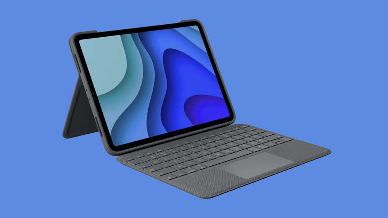 Case Logitech Folio Touch para iPad Pro
