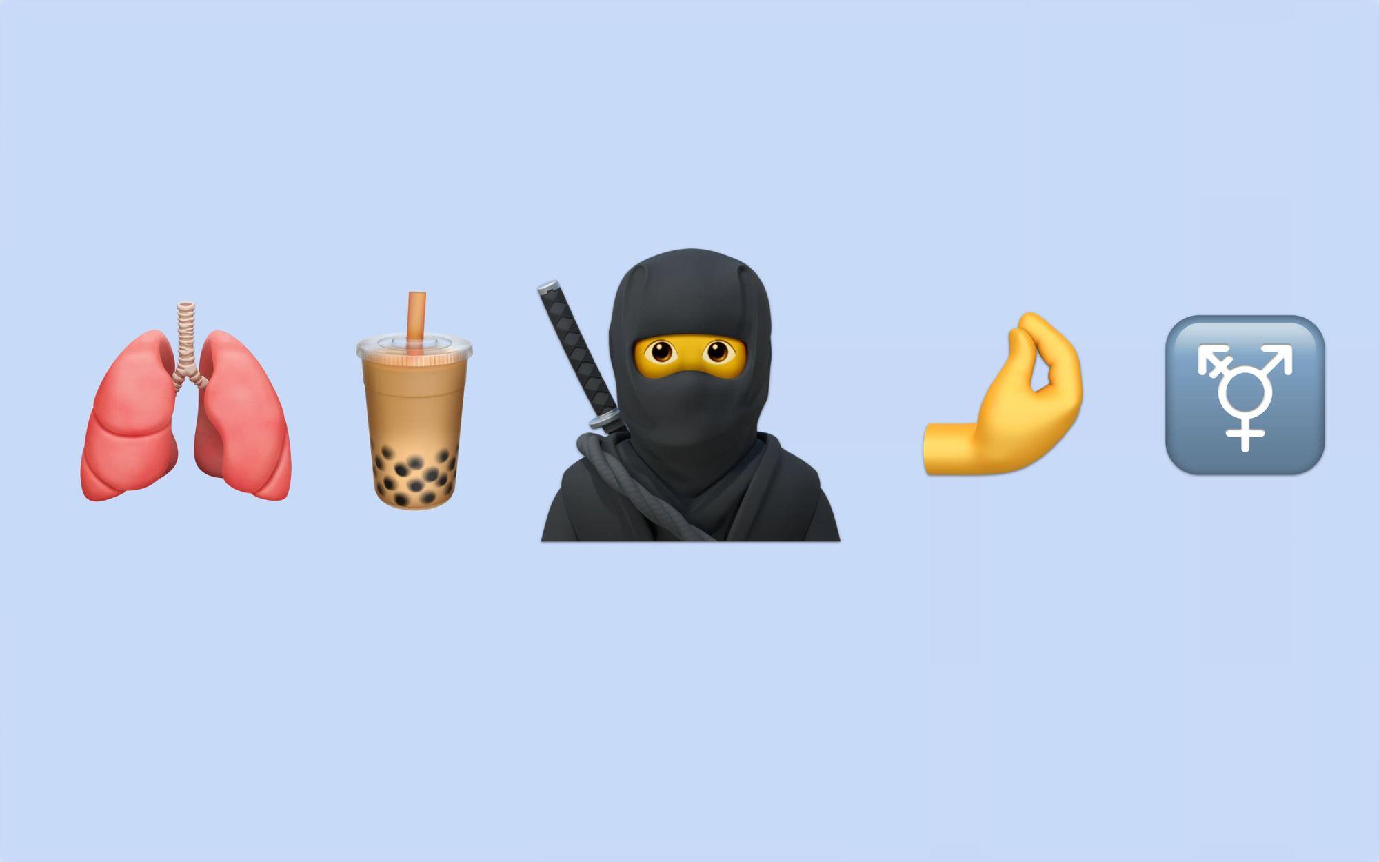 Novos emojis da Apple para 2020