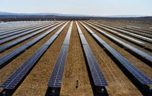 Produção de energia solar
