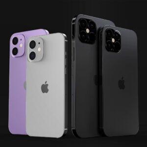 """Conceito de """"iPhones 12"""""""