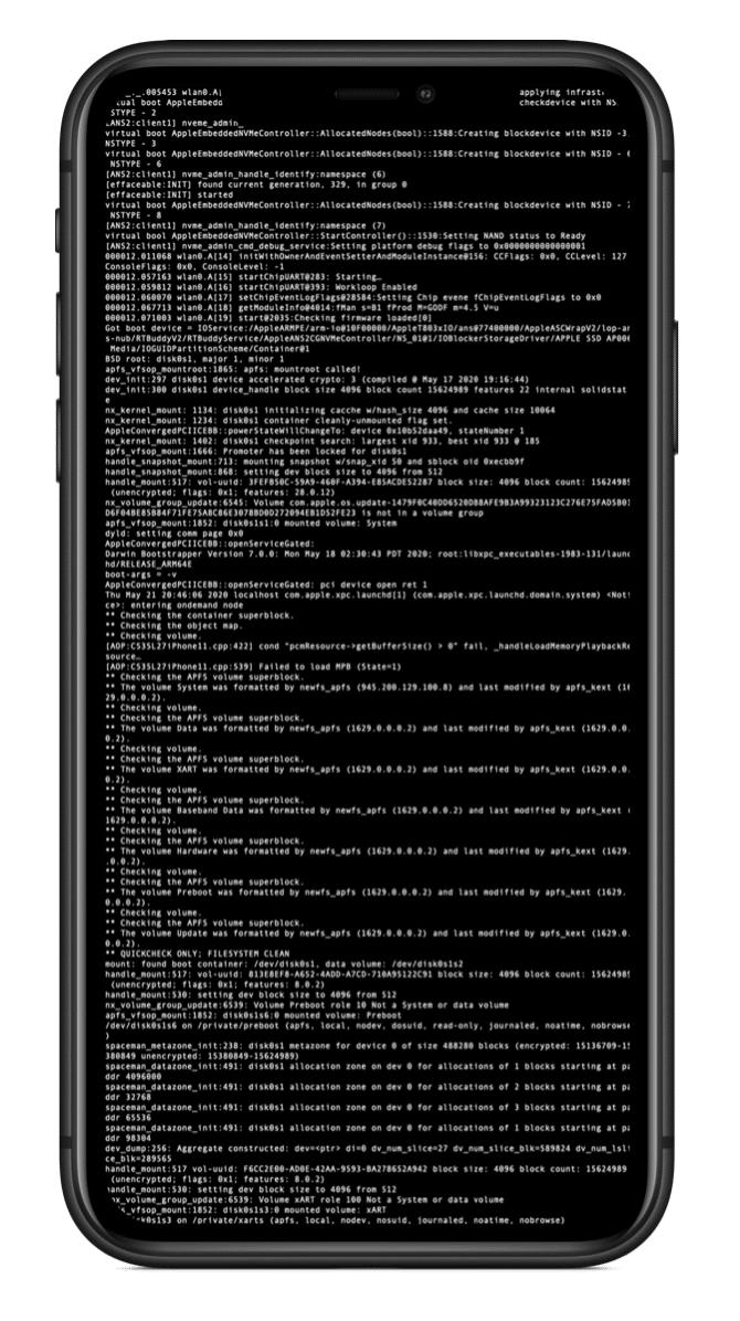 iPhone desbloqueado para pesquisadores de segurança