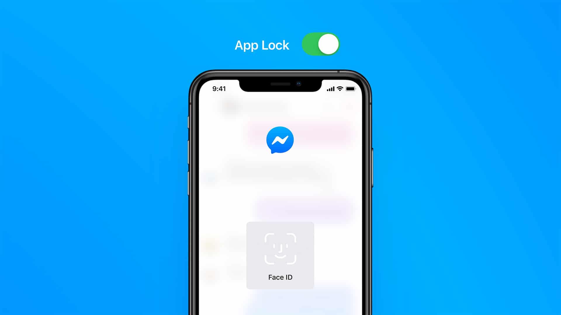 Face ID no Messenger